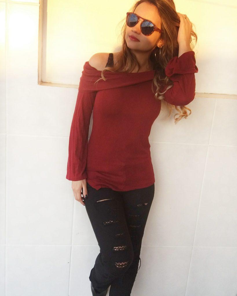 IMG_20170709_175556_149-819x1024 Look da Ka: Street Style de Jeans Rasgado e meia Arrastão